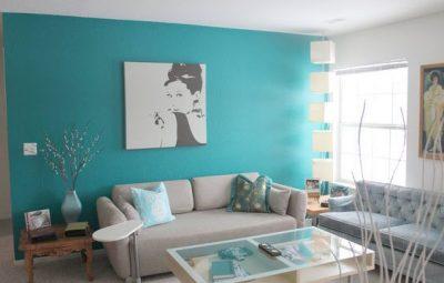 A decoração de canto de sala de estar deve ser bem especial, para diferenciar todo o ambiente (Foto: pinterest.com)