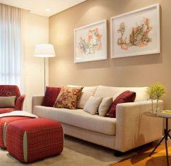 Invista pesado na decoração de cantos da sala pequenos, para deixar todo o cômodo mais bonito (Foto: pinterest.com)