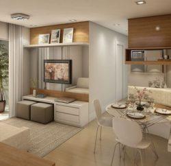 Capriche na decoração de casas modernas e pequenas (Foto: pinterest.com)