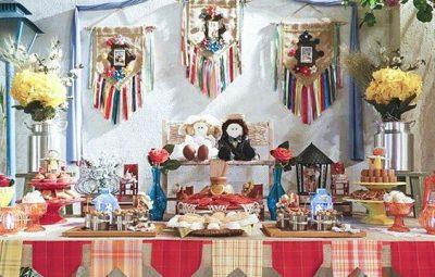 Há muitas e lindas ideias de decoração de varanda para festa junina (Foto: pinterest.com)