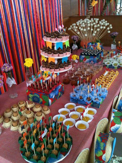 Decoraç u00e3o e Projetos 10 Ideias de Decoraç u00e3o de Varanda para Festa Junina -> Ideias Para Decoração De Festa Junina Simples
