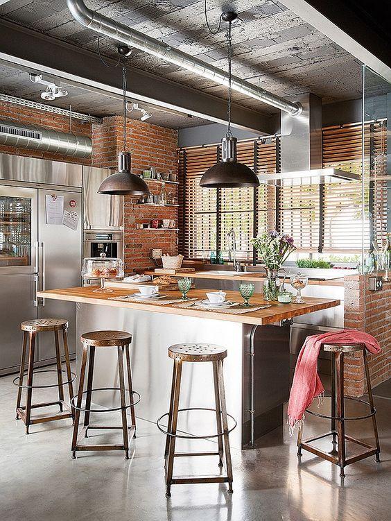 Modelos de Decoração Rústica para Cozinha