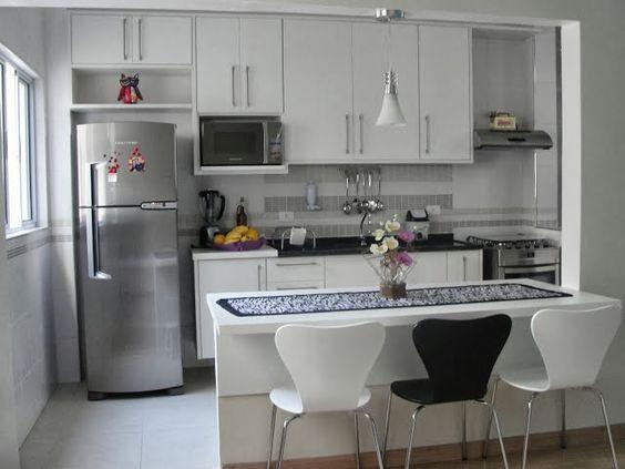 Decora o e projetos 10 modelos de decora o de cozinha - Reformas casas pequenas ...