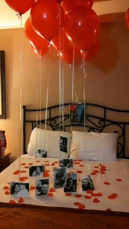 decora o e projetos decora o para o dia dos namorados no quarto. Black Bedroom Furniture Sets. Home Design Ideas