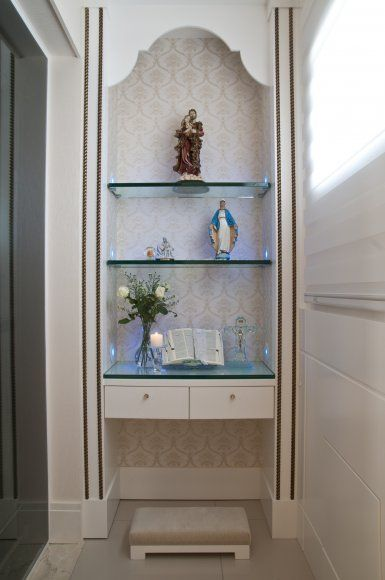 Decora o e projetos decora o cantinho de ora o em casa for Decoracion led hogar
