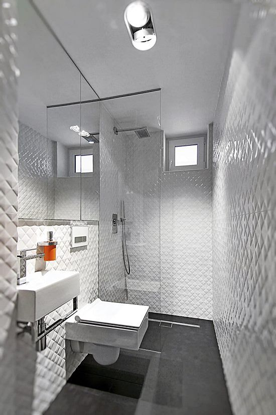 Decoração e Projetos Decoração de Banheiro Preto e Branco – Fotos -> Decoracao De Banheiro Branco E Preto