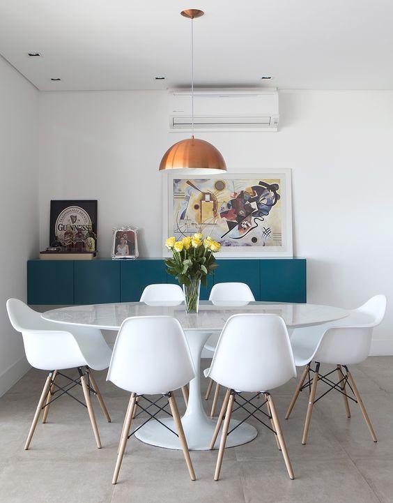 Fotos De Uma Sala De Jantar ~  Projetos – Decoração de Salas de Jantar com Quadros 15 Fotos