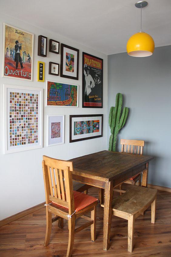 Decoracao De Sala Quadros ~  Projetos Decoração de Salas de Jantar com Quadros 15 Fotos