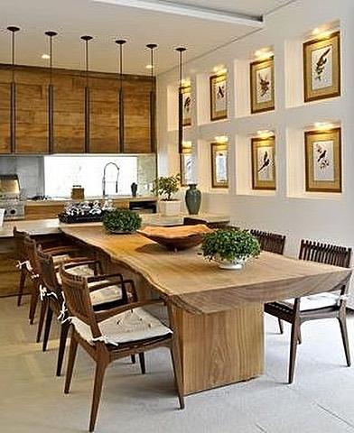 Decoração de Salas de Jantar com Quadros