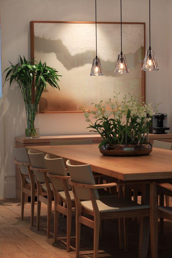 Decoracao De Sala Imagem ~  Projetos – Decoração de Salas de Jantar com Quadros 15 Fotos
