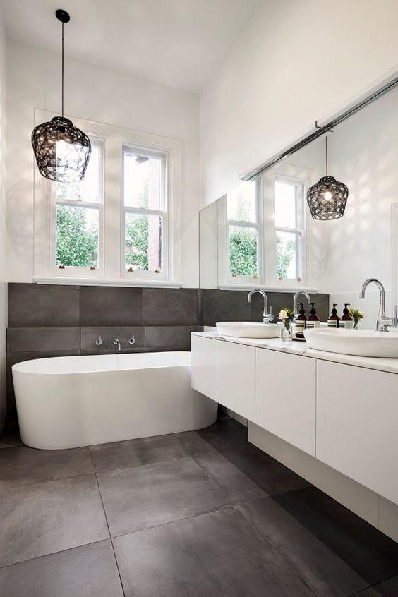 Decoração de Banheiro com Porcelanato