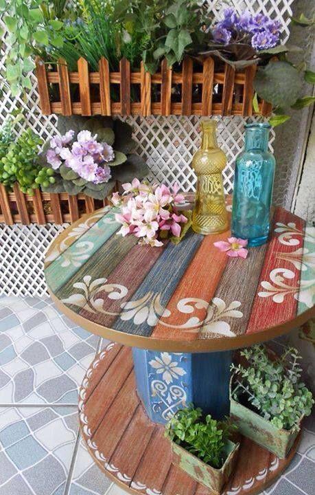 Decora o e projetos decora o de varandas com m veis r sticos - Como pintar azulejos a mano ...