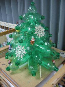 Dicas de Árvore de Natal com Material Reciclável