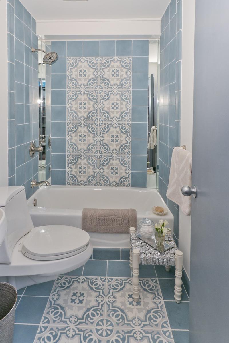 Decoração e Projetos Decoração de Banheiros com Azulejos Antigos -> Decoracao Azuleijo Banheiro