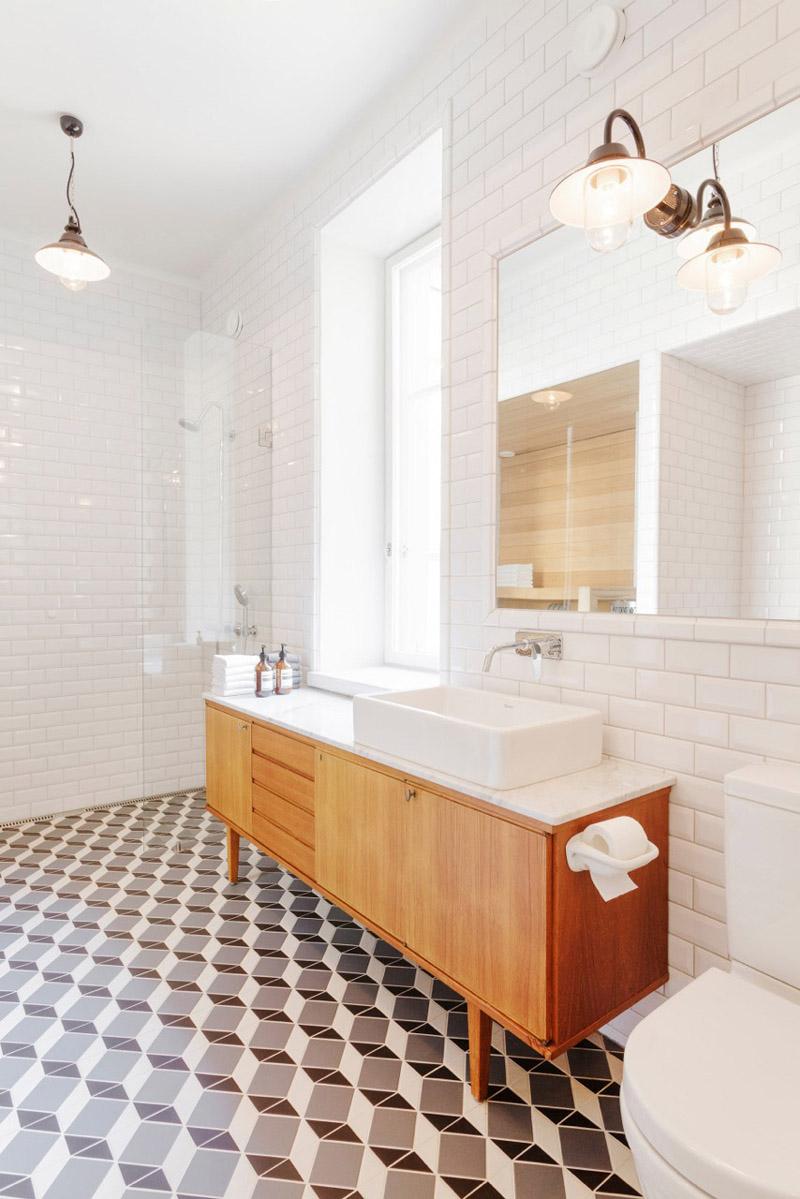 Decoração e Projetos Decoração de Banheiros com Azulejos Antigos -> Decoracao Para Banheiro Antigo