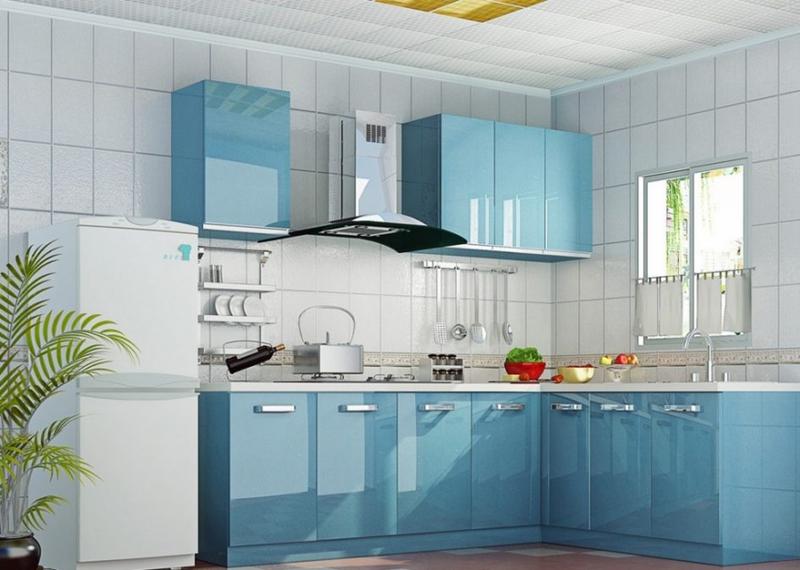 Dicas de Decoração de Cozinha Azul