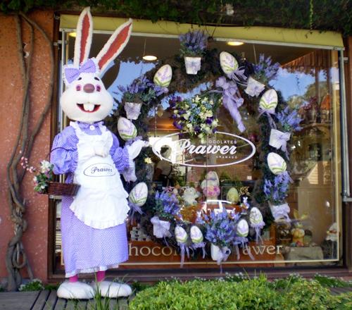 Decoraç u00e3o e Projetos 20 Ideias de Decoraç u00e3o de Páscoa para Lojas -> Decoração De Pascoa Para Vitrine De Loja