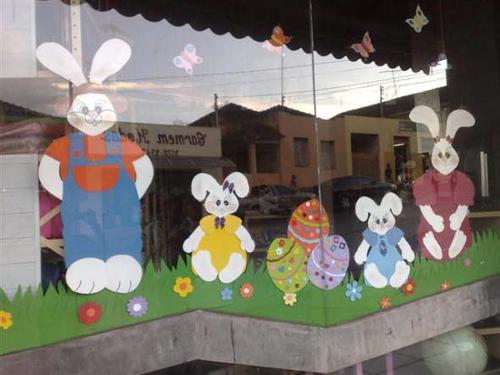 Dicas de Decoração de Páscoa para Lojas
