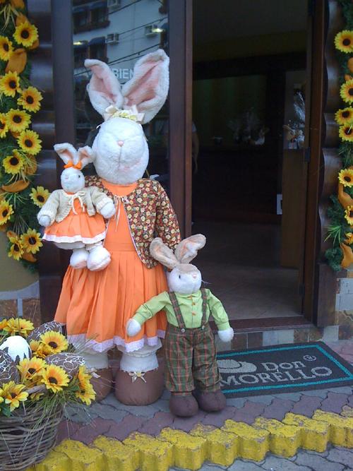 Decoraç u00e3o e Projetos 20 Ideias de Decoraç u00e3o de Páscoa para Lojas -> Decoração De Outono Para Lojas