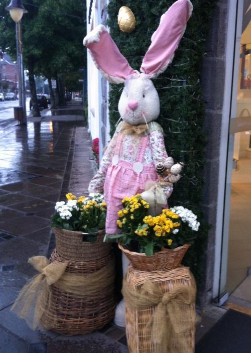 Decoraç u00e3o e Projetos 20 Ideias de Decoraç u00e3o de Páscoa para Lojas # Decoração De Pascoa Para Vitrine De Loja