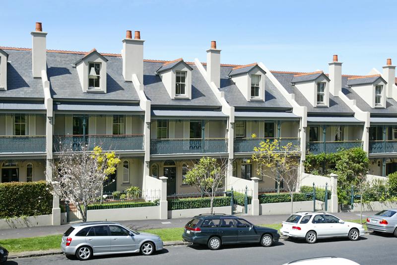 Decora o e projetos projetos de casas geminadas for Definition for terrace