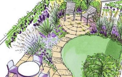 Opções de Projetos de Jardins Grandes