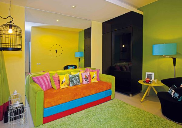 Dicas de Decoração Colorida para Sala Pequena