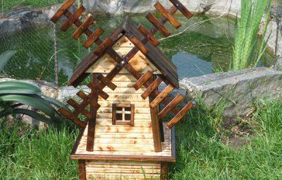Dicas de Decoração de Jardim com Lago e Catavento