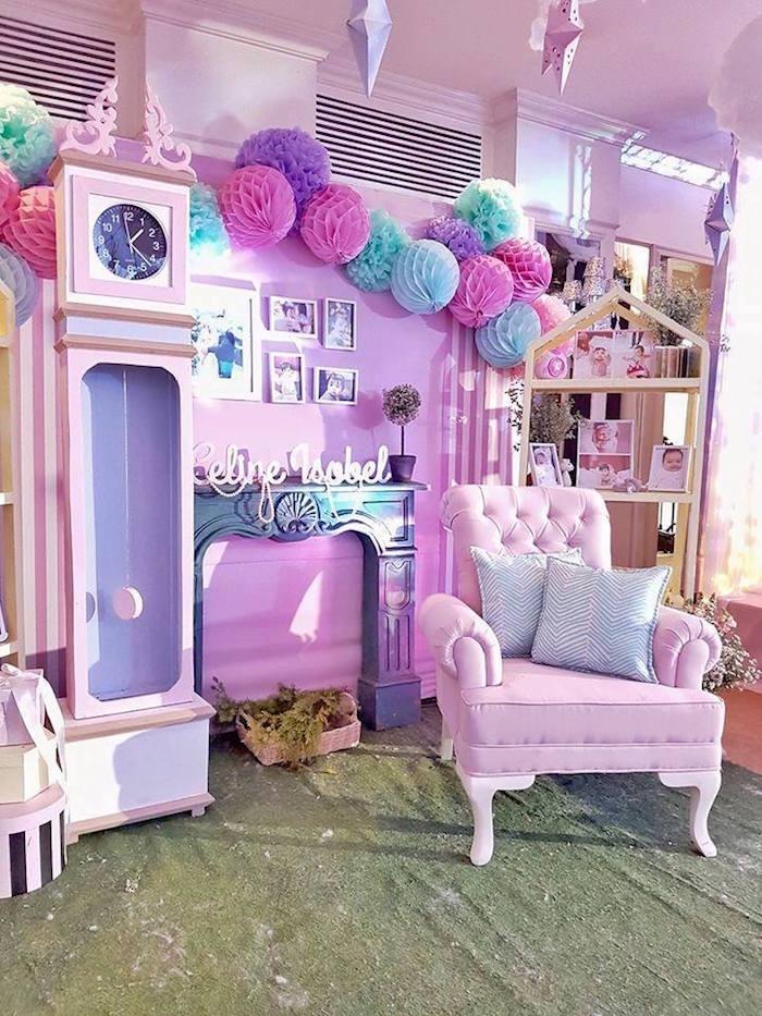 decoração de festa de princesa