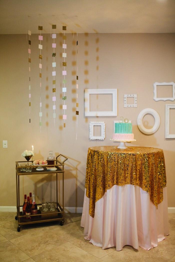 decoração simples parra festa