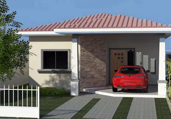 fachada com canjiquinha e cor