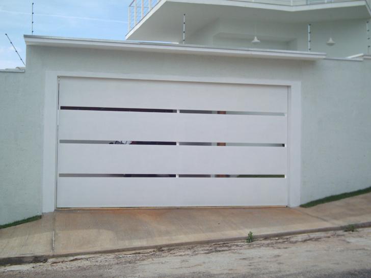 portão residencial com vãos