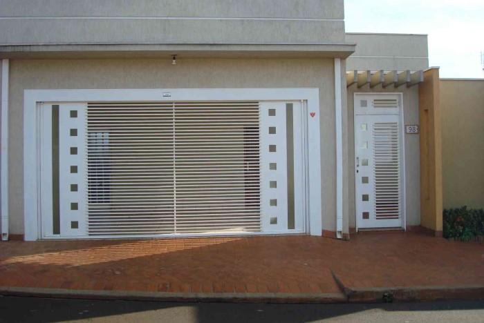 fotos de portões de casas