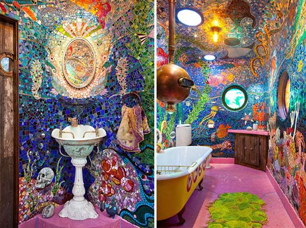 pia de banheiro diferenciada