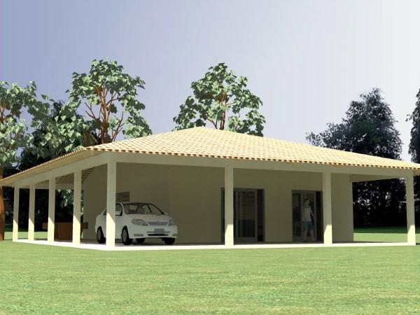 fachadas de casas simples com grafiato