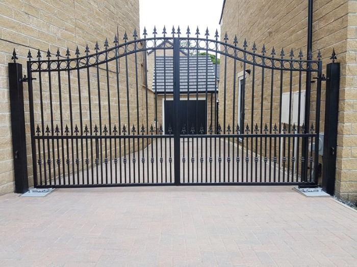 fotos de portão de aluminio
