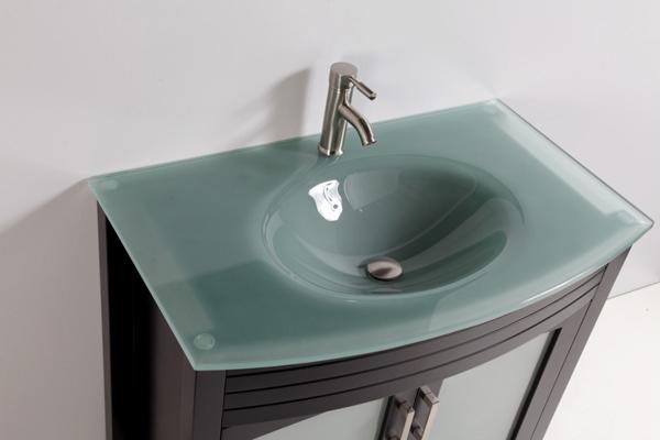 pia de banheiro opaca