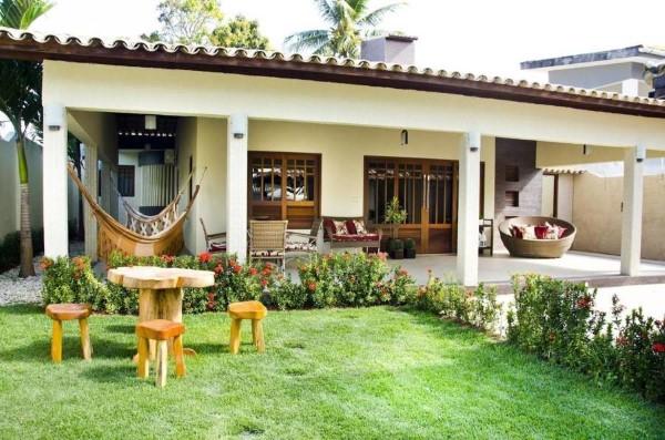 fotos de fachadas de casas pequenas e simples