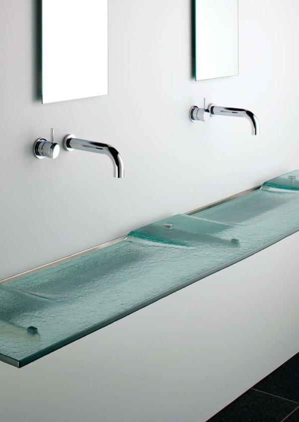 pia de banheiro futurista