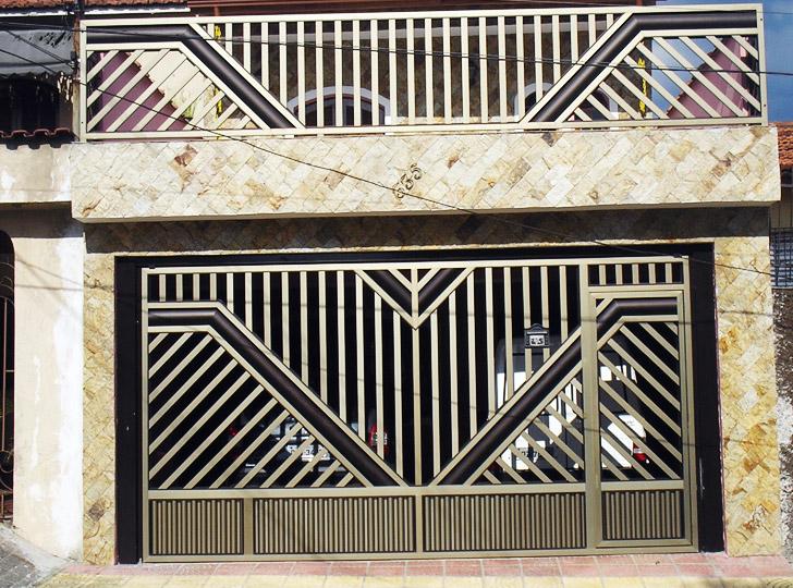 Fotos De Portões Residenciais 72 Modelos Em Alumínio