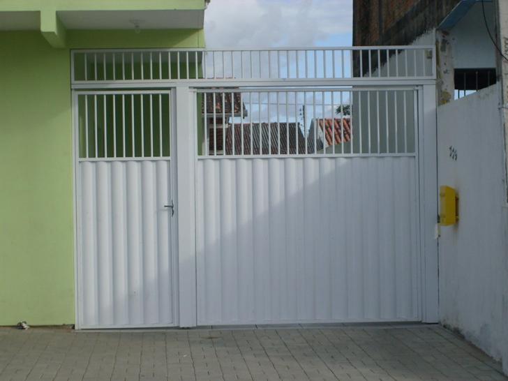 portão residencial simples