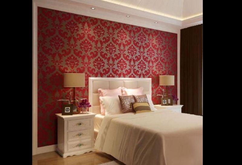 papel de parede vermelho
