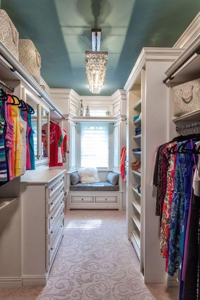 closet com janela