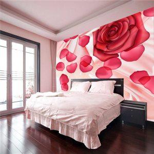 papel de parede rosa