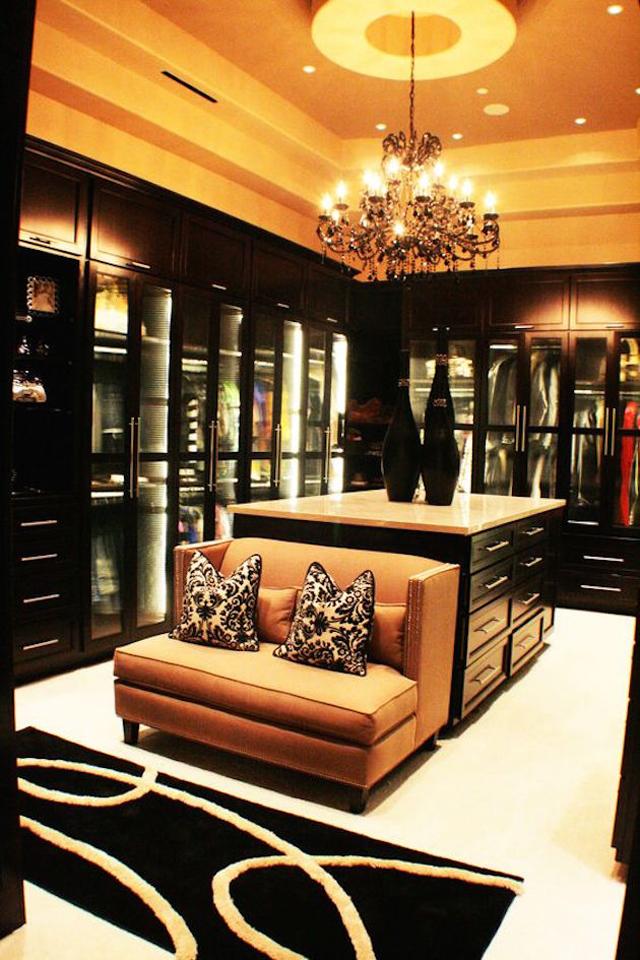 closet com poltrona