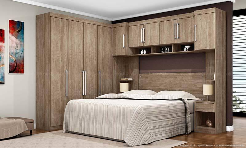 armário planejado de madeira