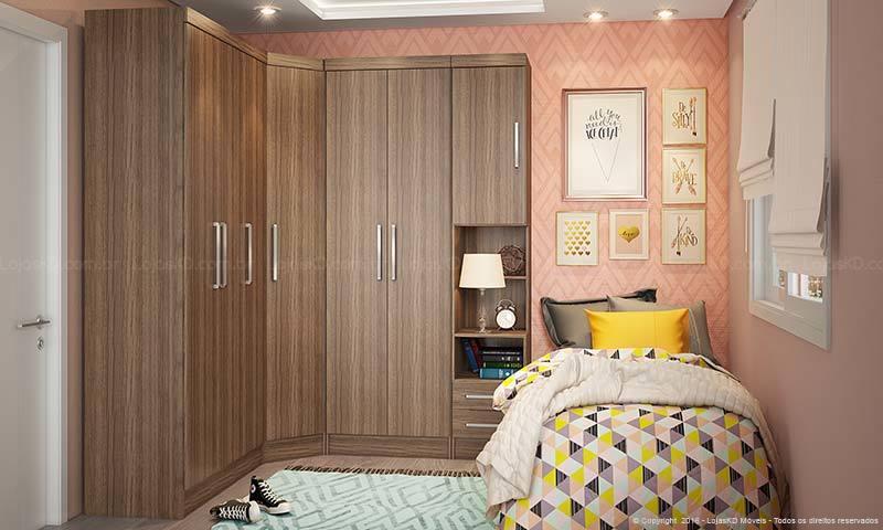 armário planejado de solteiro