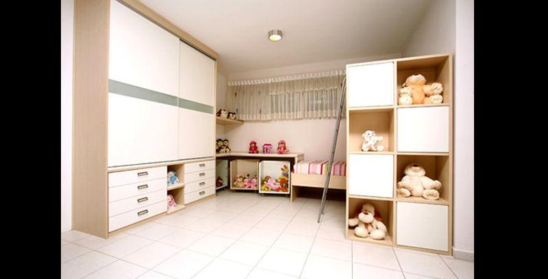 armário planejado para crianças