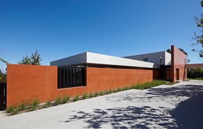 muro de residência simples