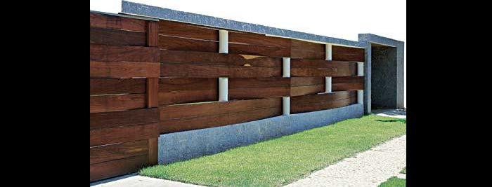 muro de residência textura